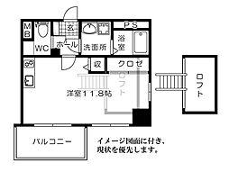 KatayamaBLDG26 片山ビル26[203号室]の間取り