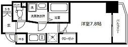 ララプレイス大阪城ヴェステン[6階]の間取り