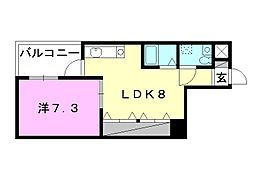 アプトンパーク21[303 号室号室]の間取り