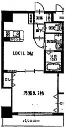 プロビデンス葵タワー[303号室]の間取り