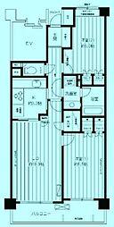 鷺沼パーク・ホームズ ウエストコート[1階]の間取り