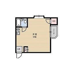STヴィラ芥川[1階]の間取り