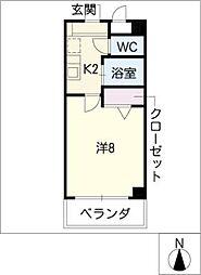 ComfortSpace高根[3階]の間取り