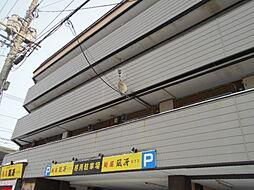 北海道札幌市豊平区美園三条7丁目の賃貸アパートの外観