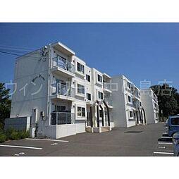 北海道札幌市清田区平岡十条1丁目の賃貸マンションの外観