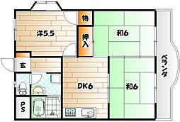 林ビル1[3階]の間取り