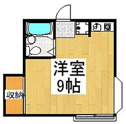ビラーアキ[1階]の間取り
