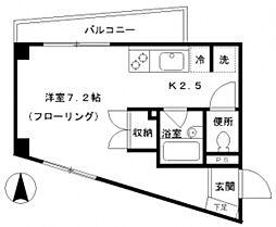 マ・メゾン椎名町[1階]の間取り