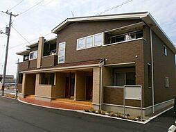 愛媛県四国中央市三島宮川3丁目の賃貸アパートの外観