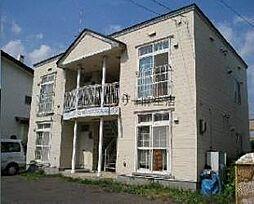 北海道札幌市北区新琴似一条8丁目の賃貸アパートの外観