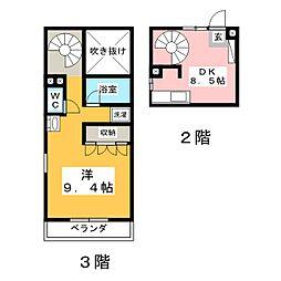 Maison Raffite[2階]の間取り