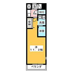 サウス名駅[14階]の間取り