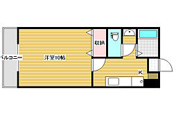 新潟県新潟市西区小新南2丁目の賃貸アパートの間取り