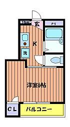 立川NSマンション[4階]の間取り