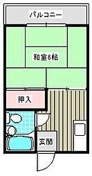 メゾン恒榮[305号室]の間取り