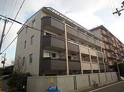 京都府京都市北区大宮開町の賃貸マンションの外観