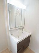 洗面台施工例の写真
