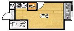 ロイヤルハウスアオイ[1階]の間取り