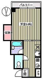 HONGO桜HOUSE[2階]の間取り