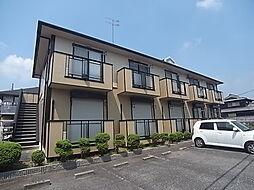 兵庫県加東市喜田2丁目の賃貸アパートの外観