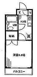 メゾン・ド・クレール[3階]の間取り