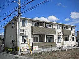 徳島県徳島市国府町花園の賃貸アパートの外観