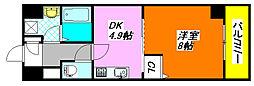 レガーロ・布施 507号室[5階]の間取り