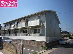 愛知県名古屋市天白区高島2丁目の賃貸アパートの外観