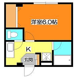 メゾン前沢[2階]の間取り
