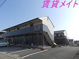 コーポMEIWA A・B[2階]の外観