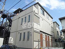東京都江戸川区中葛西6丁目の賃貸アパートの外観