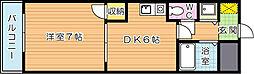 鷹の巣センチュリー21[2階]の間取り