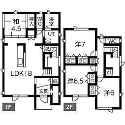 [一戸建] 北海道札幌市豊平区水車町5丁目 の賃貸【/】の間取り