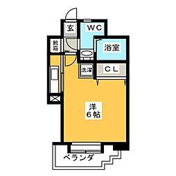 エステート・モア・高宮REVE[5階]の間取り