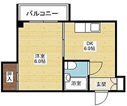 アルテ118[5階]の間取り
