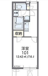 コンフォ[3階]の間取り