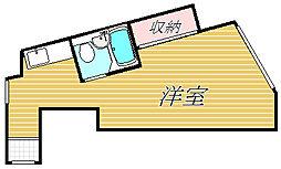 サンシティー東和[4階]の間取り