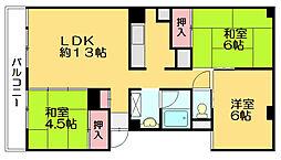 竹元ビル[4階]の間取り