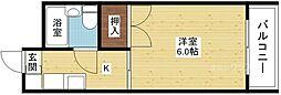 Do東三国I[2階]の間取り