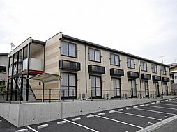 広島県福山市青葉台2の賃貸アパートの外観