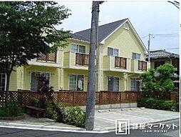 愛知県岡崎市八帖町字松葉の賃貸アパートの外観