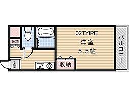 アミティカジュアル[3階]の間取り