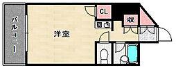 福岡県福岡市南区寺塚1丁目の賃貸マンションの間取り