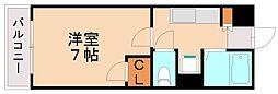 アーク箱崎[1階]の間取り