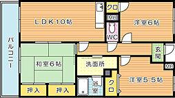 エクセル青葉台II[3階]の間取り
