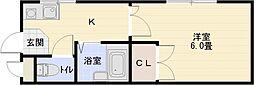 グリーンヒル110[2階]の間取り