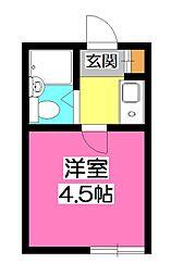 千藤庵(せんどうあん)[2階]の間取り