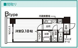 Nasic仙台東口[906号室号室]の間取り