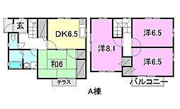 [一戸建] 愛媛県松山市正円寺1丁目 の賃貸【/】の間取り