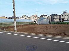 現地土地です。敷地は約43坪ございます。